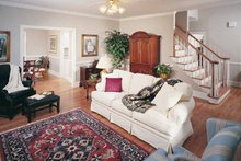 Country Interior - Family Room Plan #929-96