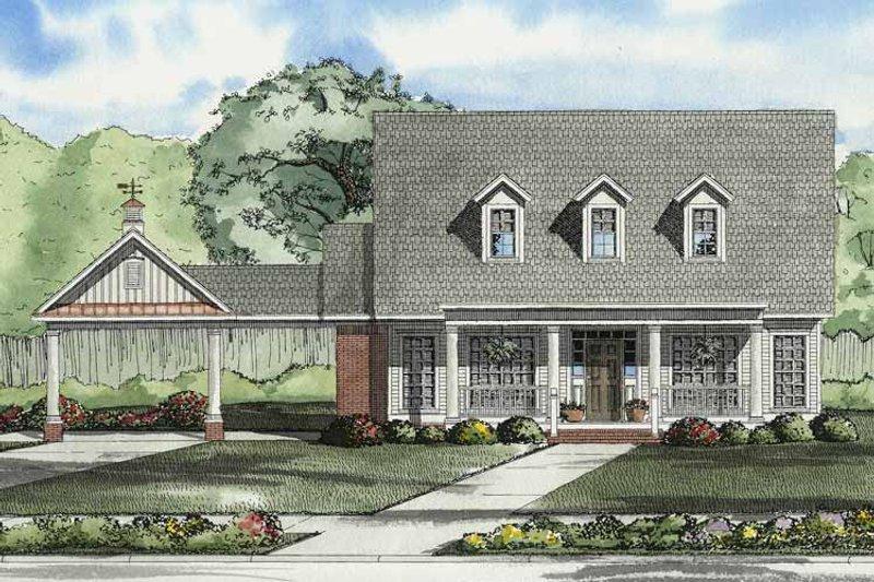 Colonial Exterior - Front Elevation Plan #17-2861 - Houseplans.com