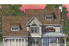 Country Exterior - Front Elevation Plan #1016-90
