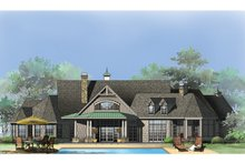 Architectural House Design - Rear Rendering
