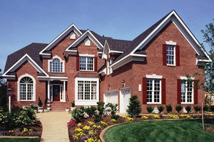 Home Plan - European Exterior - Front Elevation Plan #927-190