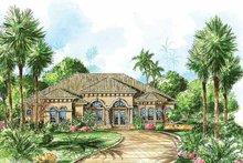 House Plan Design - Mediterranean Exterior - Front Elevation Plan #1017-21