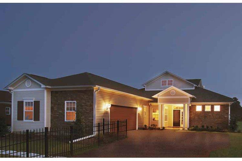 Classical Exterior - Front Elevation Plan #930-372 - Houseplans.com