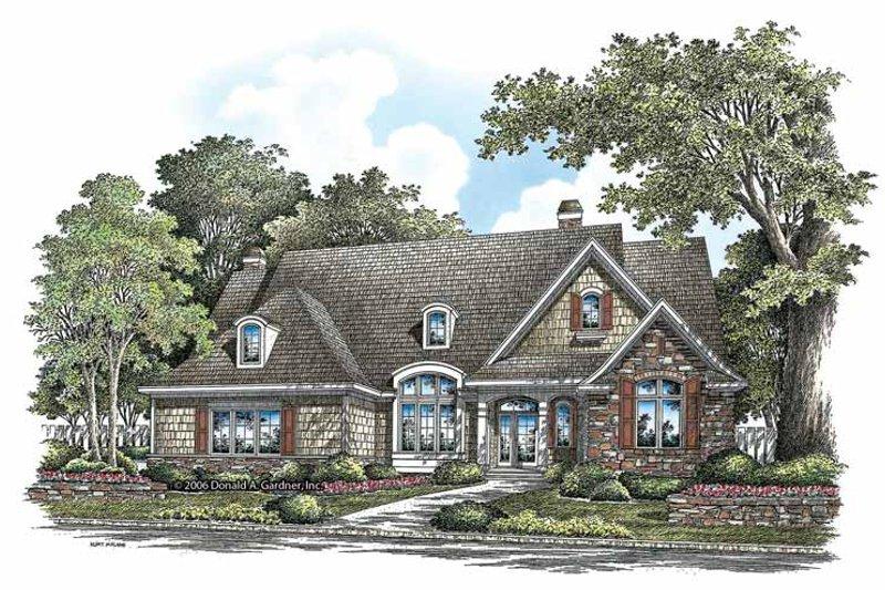 Craftsman Exterior - Front Elevation Plan #929-862