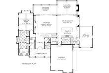 Farmhouse Floor Plan - Main Floor Plan Plan #927-997