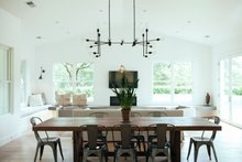 Dream House Plan - Ranch Interior - Dining Room Plan #888-18