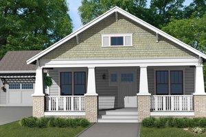 Craftsman Exterior - Front Elevation Plan #461-13