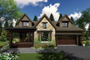 Contemporary Style House Plan - 3 Beds 3 Baths 2500 Sq/Ft Plan #51-587 Exterior - Other Elevation