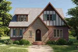 House Plan Design - Tudor Exterior - Front Elevation Plan #1079-3
