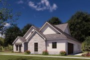 Traditional Style House Plan - 3 Beds 2 Baths 2382 Sq/Ft Plan #923-176 Exterior - Other Elevation