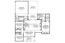 Country Floor Plan - Main Floor Plan Plan #406-9659