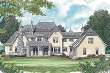 House Plan Design - Country Exterior - Rear Elevation Plan #453-468