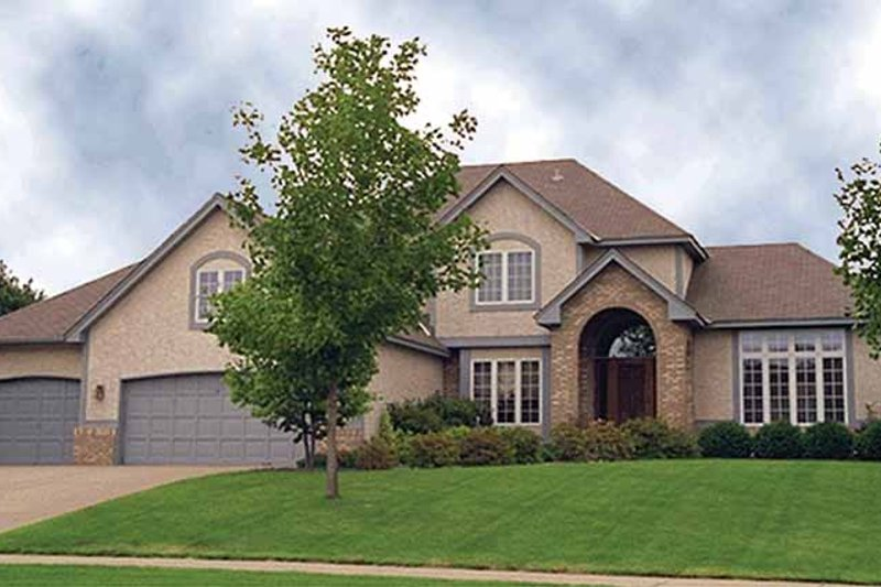 Traditional Exterior - Front Elevation Plan #51-847