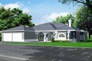 Adobe / Southwestern Style House Plan - 3 Beds 2.5 Baths 2975 Sq/Ft Plan #1-735