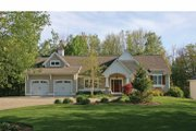 Craftsman Style House Plan - 3 Beds 2.5 Baths 3207 Sq/Ft Plan #928-200 Exterior - Front Elevation