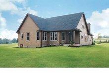 Dream House Plan - Tudor Exterior - Rear Elevation Plan #929-613