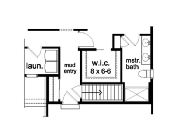 Ranch Floor Plan - Other Floor Plan Plan #1010-41