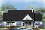 Traditional Style House Plan - 4 Beds 3 Baths 2514 Sq/Ft Plan #929-963 Exterior - Rear Elevation