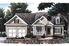 Home Plan - Colonial Exterior - Front Elevation Plan #927-669