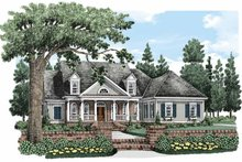 House Plan Design - Colonial Exterior - Front Elevation Plan #927-486