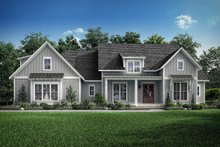 House Design - Farmhouse Exterior - Front Elevation Plan #1067-4