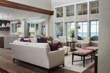 Dream House Plan - Farmhouse Interior - Family Room Plan #928-14