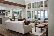 Farmhouse Interior - Family Room Plan #928-14