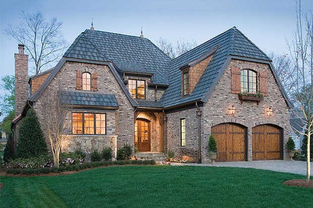 European style home, elevation photo
