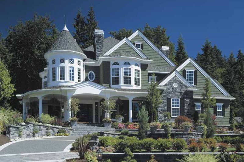 Dream House Plan - Victorian Exterior - Front Elevation Plan #132-255