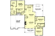 Ranch Style House Plan - 3 Beds 2 Baths 1600 Sq/Ft Plan #430-108