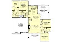 Ranch Floor Plan - Main Floor Plan Plan #430-108