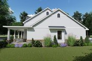 Farmhouse Style House Plan - 3 Beds 2.5 Baths 2787 Sq/Ft Plan #120-257 Exterior - Other Elevation