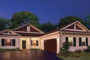 Country Style House Plan - 3 Beds 2 Baths 1446 Sq/Ft Plan #930-362 Exterior - Front Elevation