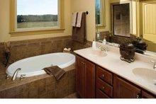 Dream House Plan - Tudor Interior - Master Bathroom Plan #929-613