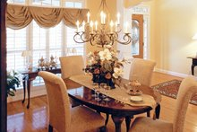 House Plan Design - Country Interior - Dining Room Plan #927-959