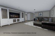 House Design - Optional Basement Family Room