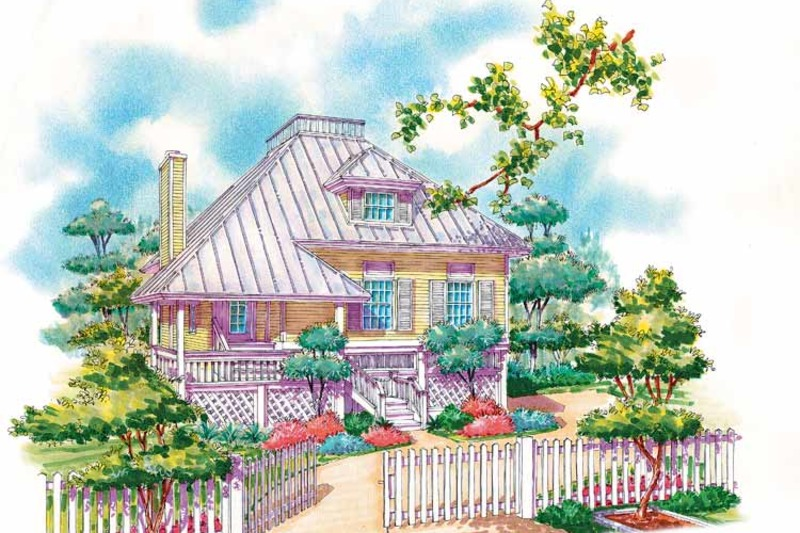 Country Exterior - Front Elevation Plan #930-29 - Houseplans.com