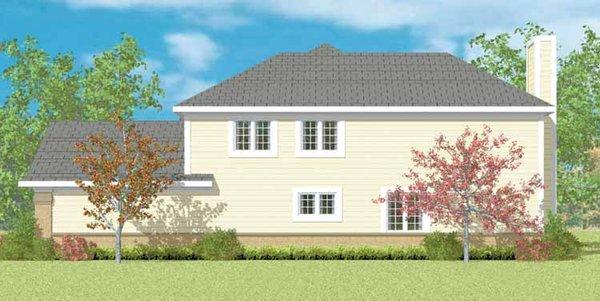 Traditional Floor Plan - Other Floor Plan Plan #72-1095