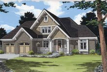 Architectural House Design - Traditional Exterior - Front Elevation Plan #46-824