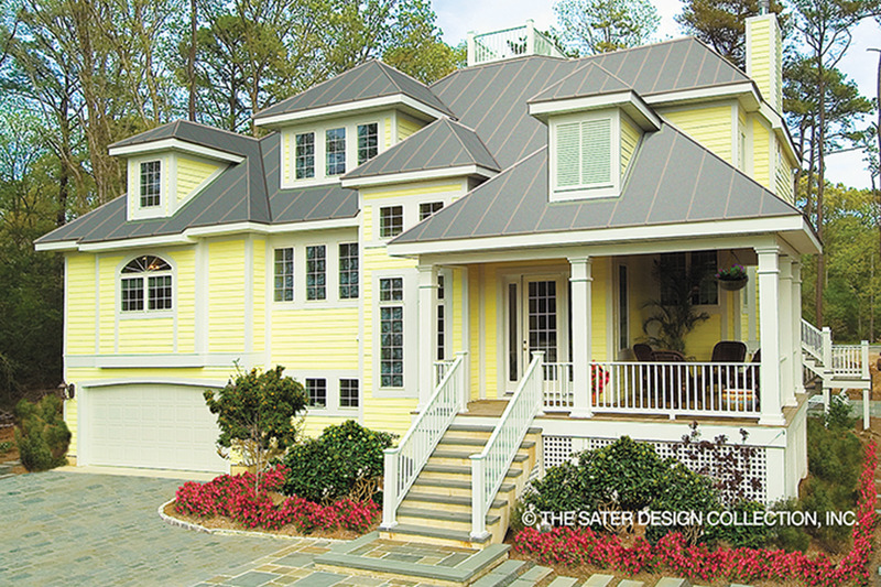 Country Exterior - Front Elevation Plan #930-111 - Houseplans.com