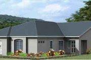 Adobe / Southwestern Style House Plan - 4 Beds 3 Baths 2248 Sq/Ft Plan #1-965
