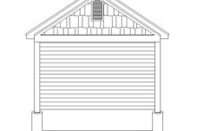 Country Exterior - Rear Elevation Plan #932-190