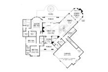 European Floor Plan - Main Floor Plan Plan #929-950