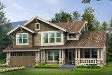 Craftsman Exterior - Front Elevation Plan #132-359