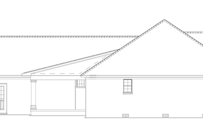 Ranch Exterior - Other Elevation Plan #17-2781 - Houseplans.com