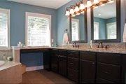 Tudor Style House Plan - 4 Beds 2.5 Baths 3203 Sq/Ft Plan #928-234 Interior - Master Bathroom