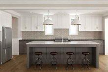 Dream House Plan - Tudor Interior - Kitchen Plan #1079-3