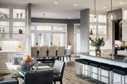 Contemporary Style House Plan - 4 Beds 3.5 Baths 4983 Sq/Ft Plan #928-287 Interior - Kitchen