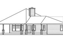 Dream House Plan - Craftsman Exterior - Other Elevation Plan #124-731