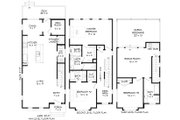 Contemporary Style House Plan - 3 Beds 3.5 Baths 2129 Sq/Ft Plan #932-196 Floor Plan - Other Floor